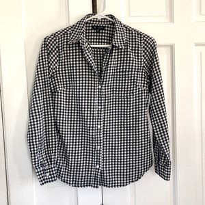 GAP Gingham Button Down Collared Shirt